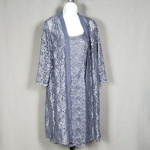 Timeless Lace Jacket Dress by Alex Evenings